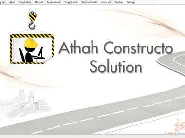 Constructo Biz Solution - Welcome Page