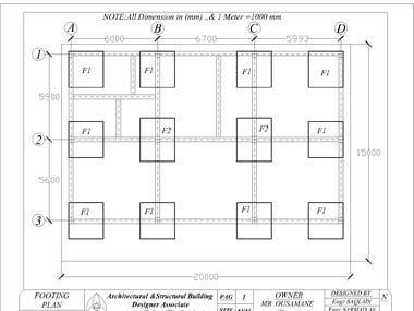Structural Drawing /Concrete Plans