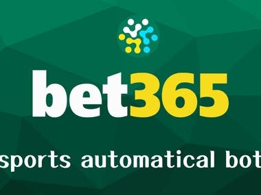 Bet365 Auto Bot