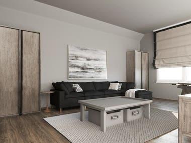 TEAM's Interior Design and Rendering