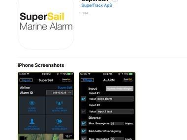 iOS App- Super Sail