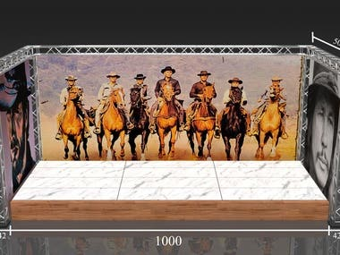 Designs of a Cowboy Event Props and Atrezzo