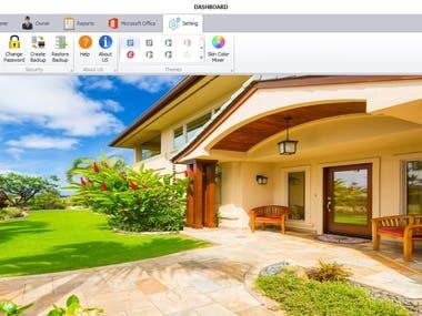 Real Estate Sysetm ( Desktop and Web Base System )