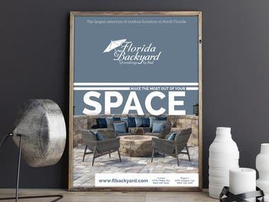 Furniture poster design