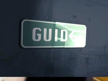 Guide Marketing Consultancy Logo Design