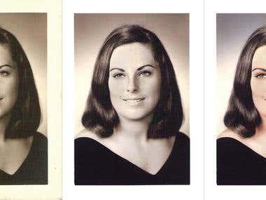 Photo Restoration Process