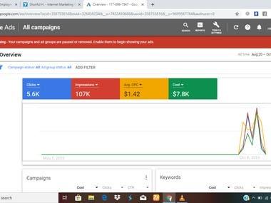 Google Ad account management