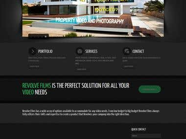The Revolve Films Wordpress Project