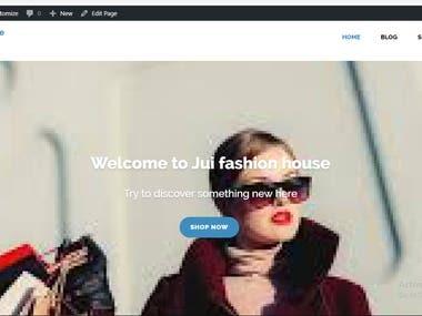 design for fashion design company