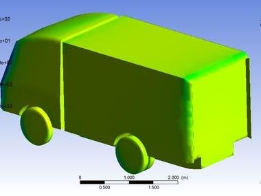 truck design and aerodynamics analysis