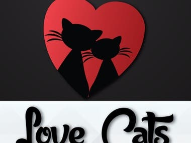 cat logo design for the site