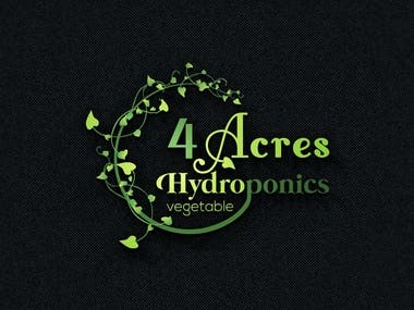 Hydroponic Vegetable logo