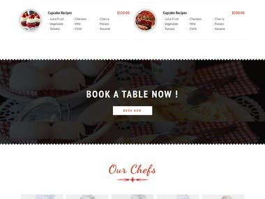 Table Booking - Delicious Food