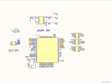 TMS320F2812 DSP Circuit