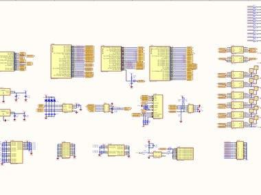 Cyclone II series FPGA circuit