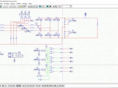 3P4W PWM rectifier simulink.