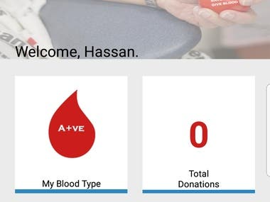 Blood Donation App