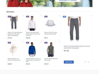 E-coomerce Online Shopping Website