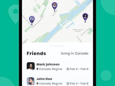 Super simple travel app
