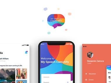Speech Community App