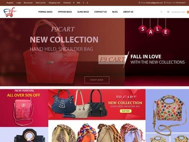 f9cart is a eCommerce website