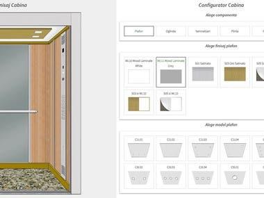 Elevator Cabin Configurator
