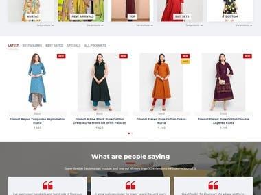 Frindi - Online Store for Women Clothing