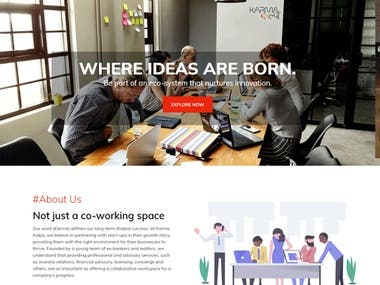 Karma Kalpa is real estate and a co-working space,