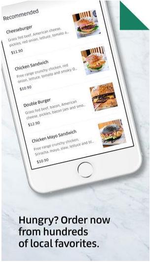 Uber-Eats Style App