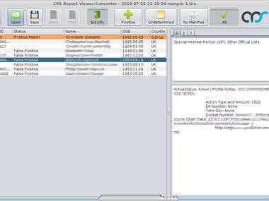 Interface sample