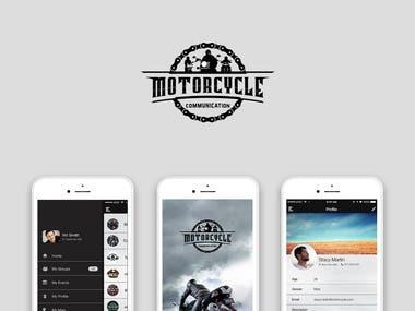 Motorcycle App Design