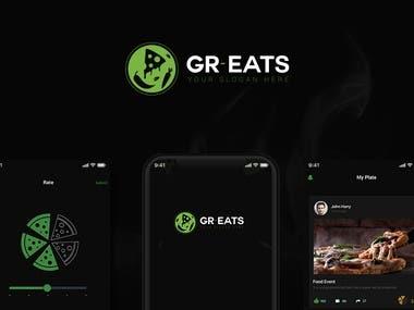 Gr Eats App Design