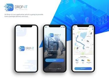 24 Drop it App Design