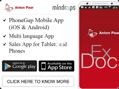 ExDocs - Anton Paar Enterprise App