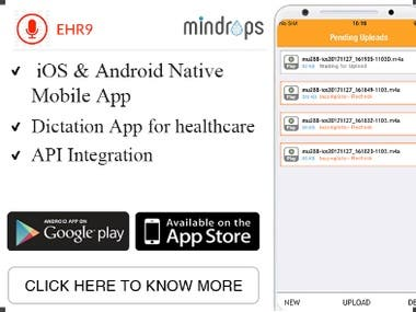 EHR9 - Dictation and Transcription App
