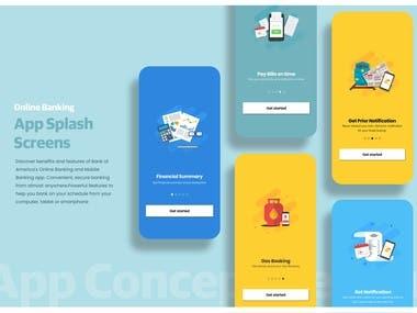 Splash Screens for an App