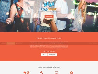 Event management website - Laravel
