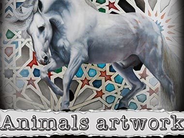Animals artworks