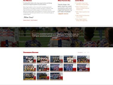 DFW Football Club Website