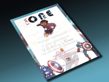 Invitation Card Design