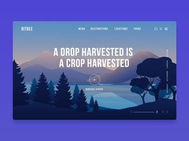 UI/UX design for Gaming Site