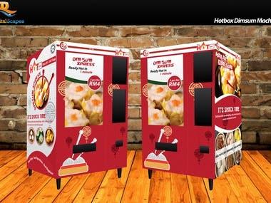 Hotbox Dimsum Machine Design