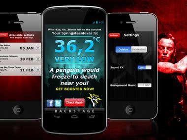 BruceFever App