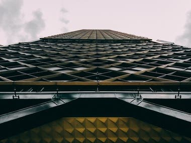 Architecture photography.
