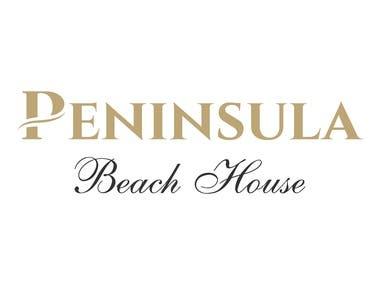 Peninsula Beach House - Logo