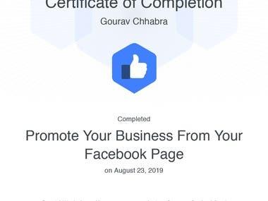Facebook Promostion