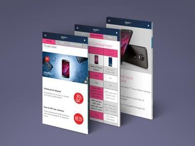 Motorola Retail Training App