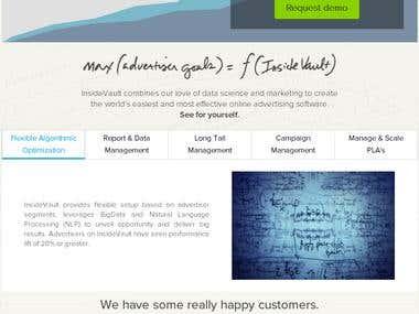 Modern Wordpress site