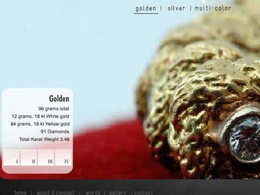 Jewlery web site