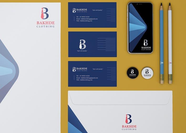 Stationary Design Business Card Letterhead Etc Freelancer